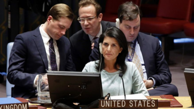 "Haley: ""We're done talking!""; Tillerson: ""No we're not."""