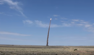 The launch was conducted at the Sary-Shagan test site in Kazakhstan