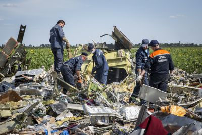 Nearly five months after the accident, and the Dutch still haven't collected all the debris