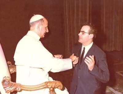 Pope Paul VI and G.E. Valori