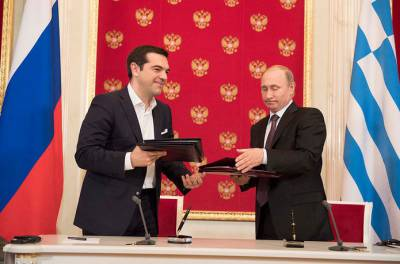 Greek Prime Minister meets with Vladimir Putin - (Prime Minister's flickr page)