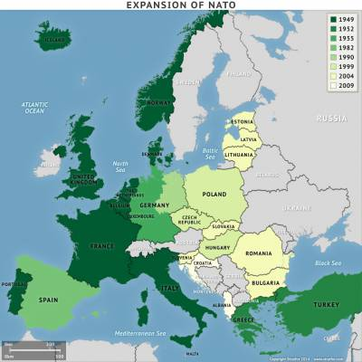 """""""Not an inch"""" of NATO expansion?"""