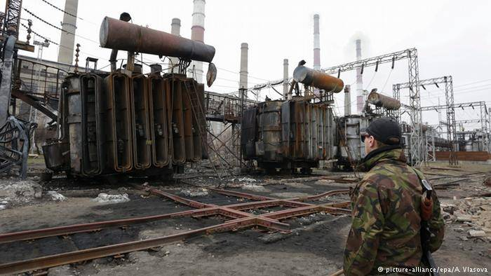 <figcaption>While Ukraine's economy could return to growth next year, the situation for 2015 looks rather dismal</figcaption>