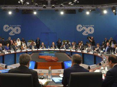 <figcaption>At no time did the NATO states at the G20 dare to broach the Ukraine problem</figcaption>