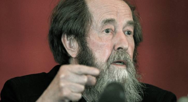 <figcaption>Writer Alexander Solzhenitsyn | Photo: A. Natruskin, Sputnik</figcaption>