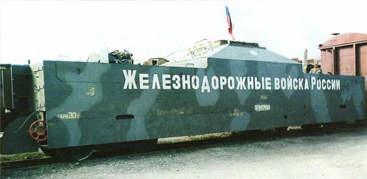 <figcaption>Russia must be the only country that still has armored trains...</figcaption>