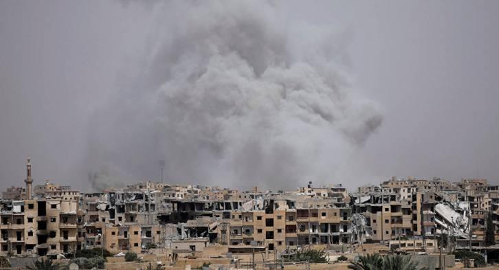 <figcaption>America has 'Dresdened' Raqqa</figcaption>