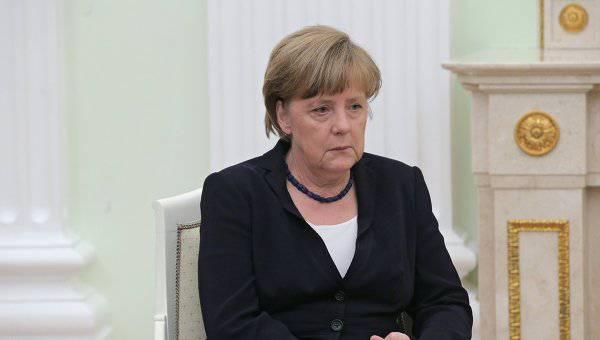 <figcaption>У Меркель кончились собственные мысли и она теперь пересказывает Обаму | Фотохост-агентство</figcaption>