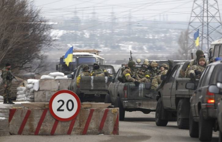"""<figcaption> """"Participation of foreign mercenaries, including Croatian, in Ukraine's internal conflict is unacceptable and only aggravates the situation,"""" the Russian ministry said.</figcaption>"""