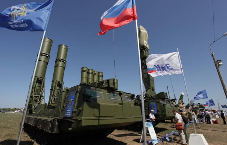 <figcaption>Antey-2500 missile system | Photo: ©ITAR-TASS, Marina Lystseva</figcaption>