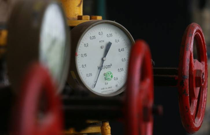 <figcaption>As of March 7, average daily gas supplies to Europe amounted to 178.5 mln cubic meters, which is 2.6% less than in the same period of 2014</figcaption>
