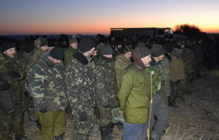 <figcaption>The rebels capture soldiers, Kiev arrests civilians...</figcaption>