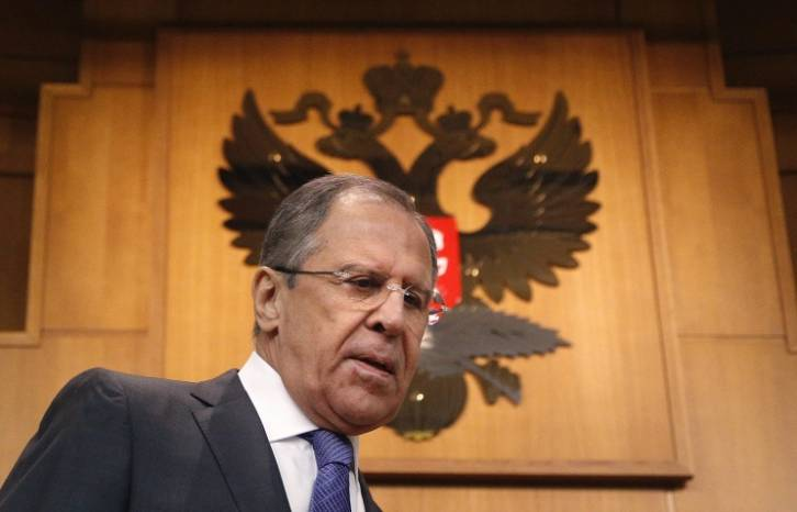 <figcaption>Russian Foreign Minister Sergey Lavrov</figcaption>
