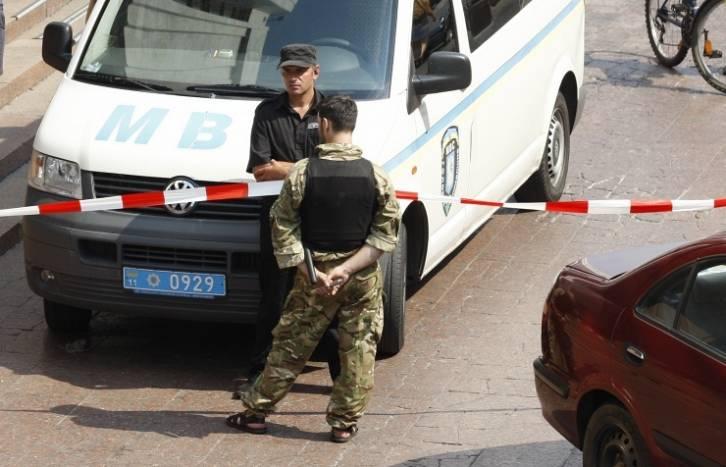 <figcaption>Blast rocks downtown Kiev, no casualties reported</figcaption>