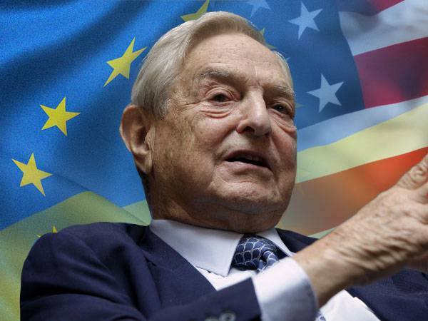<figcaption>George Soros just wants to get his money back from Ukraine — by any means.</figcaption>