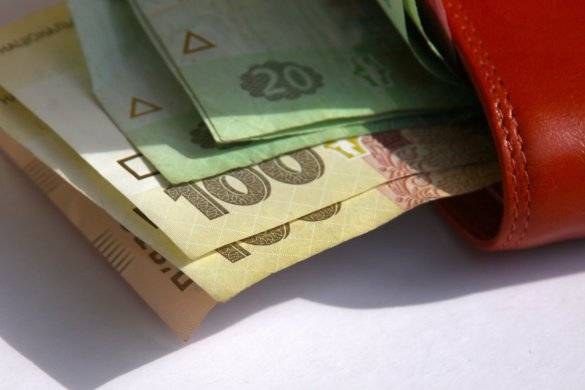 <figcaption>Meanwhile, DPR Finance Minister Yekaterina Matyushchenko said Ukraine's social payment debt to Donetsk residents stood at 21.5 billion hryvnia.</figcaption>