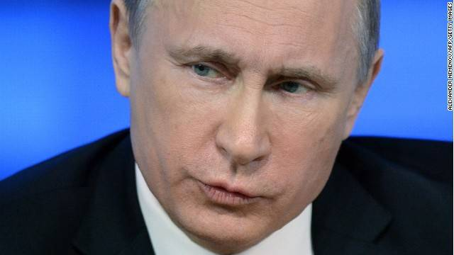 """<figcaption>Putin's """"neurological development was significantly interrupted in infancy,"""" the report says.</figcaption>"""