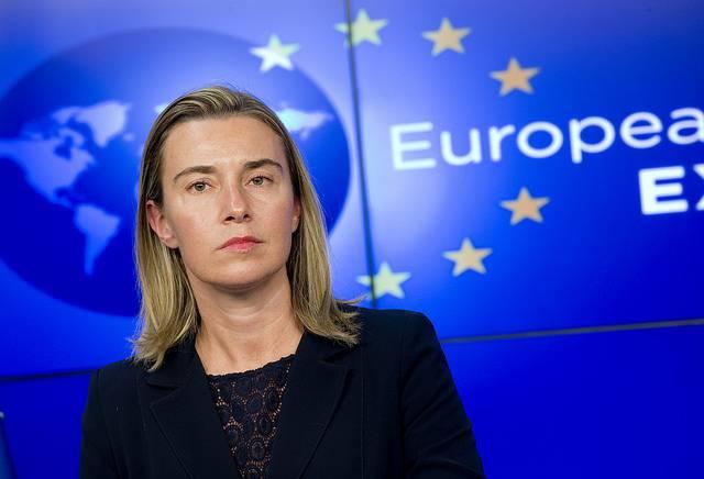 <figcaption>Federica Mogherini</figcaption>