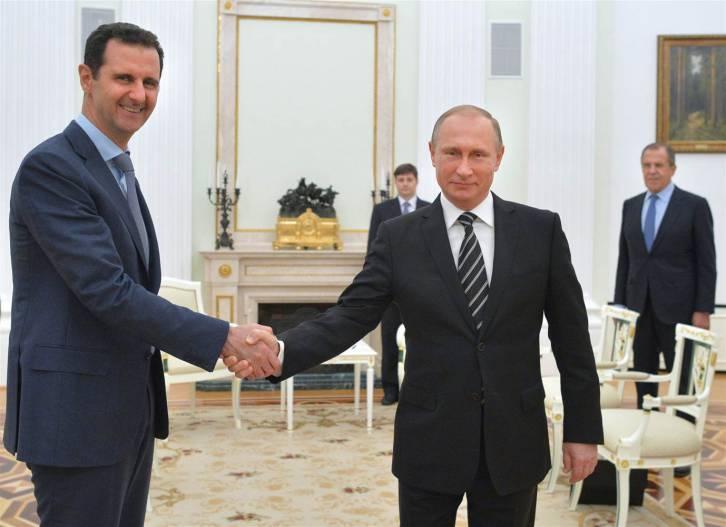 <figcaption>Russia/Syria/Iran 1, Israel 0. Match. </figcaption>