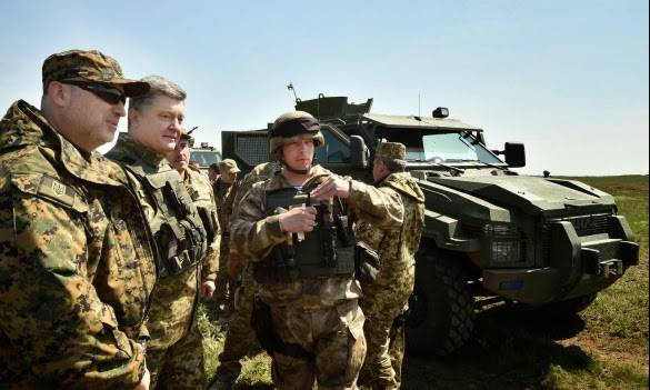 <figcaption>The Ukrainian army today is one of the most battle-ready</figcaption>