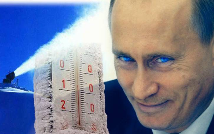 <figcaption>The leading experts claim that Putin is using military refueling planes to manipulate the weather with nano-particles of aluminum.</figcaption>