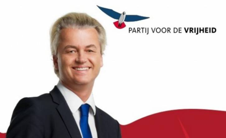 <figcaption>Geert Wilders and his Party for Freedom</figcaption>