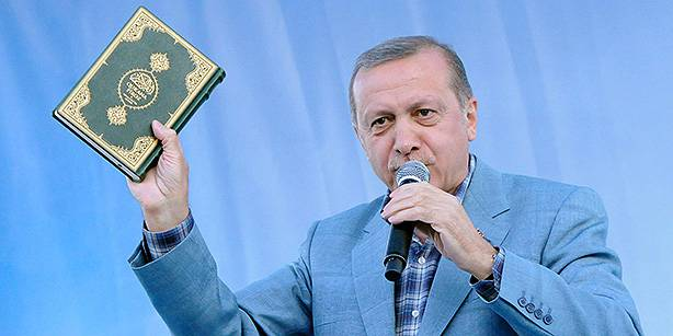 <figcaption>ISIS and Erdogan, sitting in a tree, K-I-S-S-I-N-G...</figcaption>