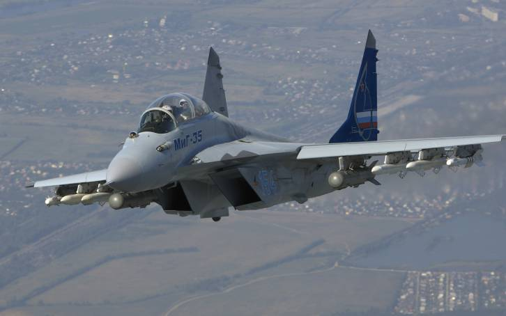 The MiG-35. Not to be sneezed at.