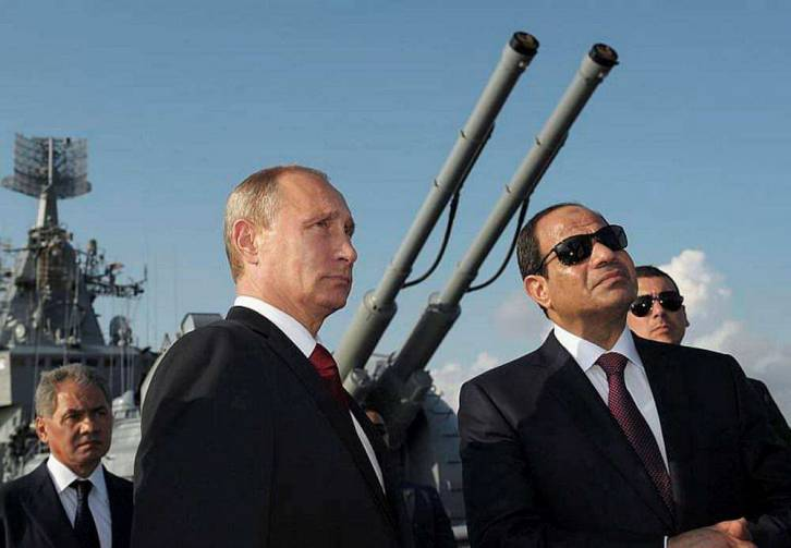 <figcaption>Egypt's US relations rest on bribes and fear alone, with Putin there is actual ideological affinity</figcaption>