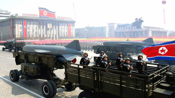 <figcaption>Adding North Korea injects some excitement to the Great Game</figcaption>