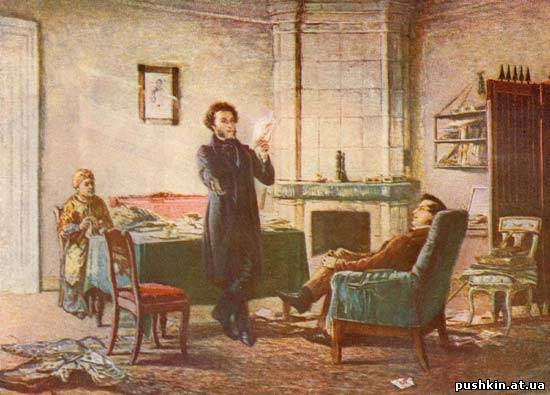 <figcaption>To this day Alexander Pushkin remains the 'Sun of Russian Poetry'</figcaption>