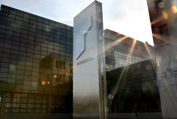 <figcaption>Rheinmetall AG wants 120 million in compensation. </figcaption>