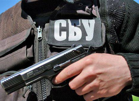 "<figcaption>Laurent-Pellet was detained for more than six hours by the SBU on bogus ""terrorism"" charges</figcaption>"