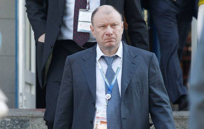 <figcaption>Potanin, pictured in May 2014, is preparing to face off with his ex in court | Photo: Andrei Makhonin, Vedomosti</figcaption>