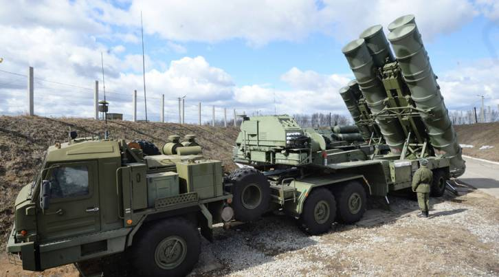 <figcaption>Russia is expected to deploy another S-400 to Syria</figcaption>