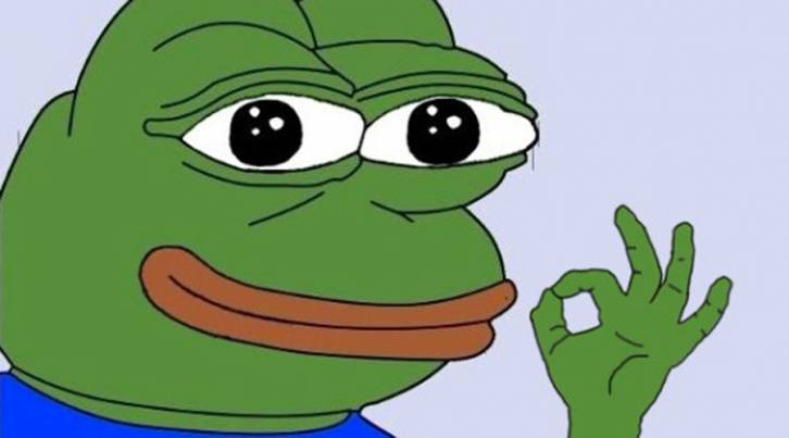 <figcaption>Pepe, the Alt-Right mascot</figcaption>