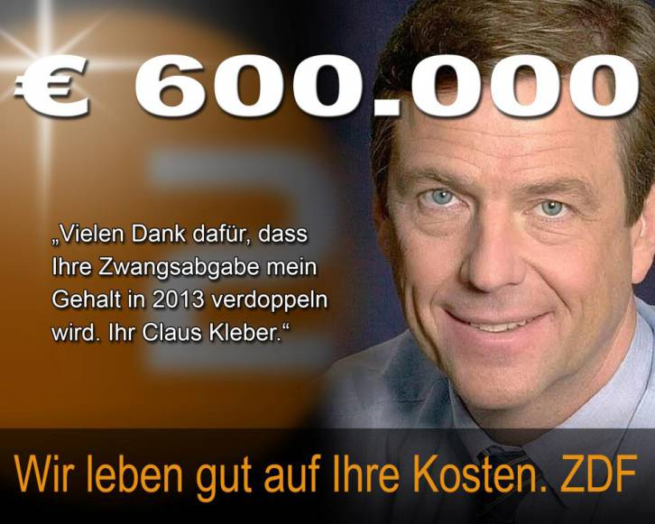 <figcaption>For $1 million a year, this famous news presenter, Klaus Kleber, will say anything he's told to say...   German media - the most pathetic thing we've seen for a long time</figcaption>