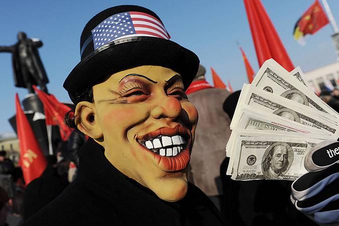 <figcaption>Упоение Америки силой и богатством может и до войны довести | Фото: РИА Новости </figcaption>