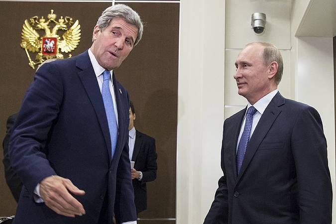 <figcaption>Главным событием недели после юбилея Победы стал визит в Россию американского госсекретаря Джона Керри | Фото: REUTERS</figcaption>