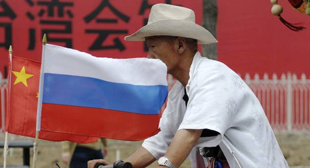 """<figcaption>Year ago sharp the title of Dmitry Trenin's article was: """"Russia: Pivoting to Asia or Just to China?""""</figcaption>"""