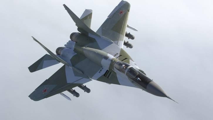 <figcaption>MiG-29</figcaption>