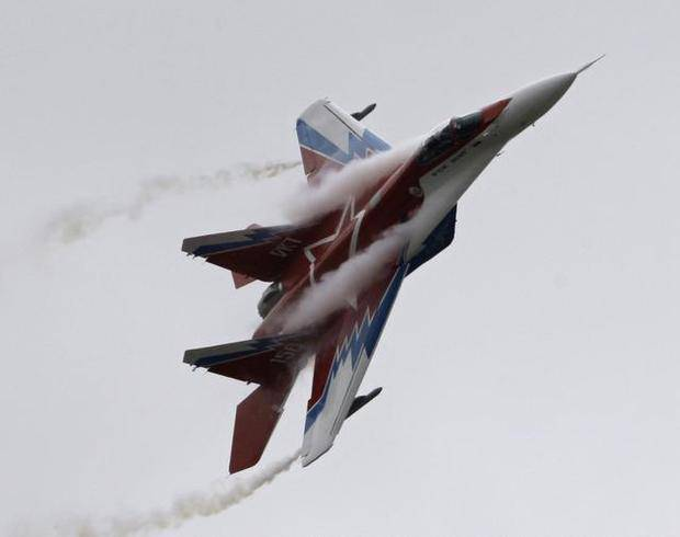 <figcaption>Russia is rekindling its once-strong ties to Nicaragua, possibly including providing jet fighters like this one</figcaption>