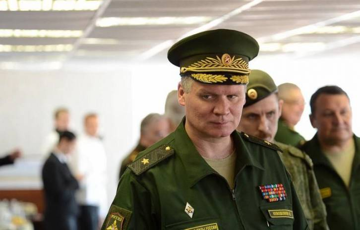 <figcaption>Konashenkov - Stop pretending to fight ISIS and get out of the way!</figcaption>
