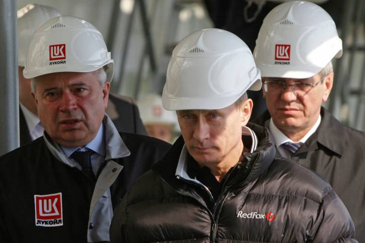 <figcaption>Russia welcomes cooperation -- but it no longer relies on western oil technology</figcaption>