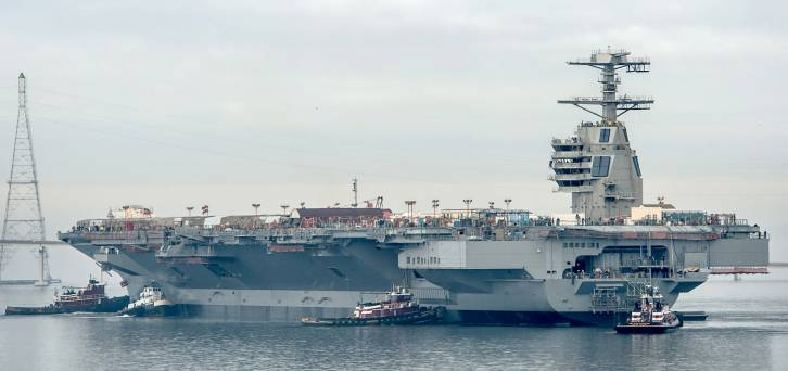 """USS Gerald R. Ford: """"At least it floats"""""""