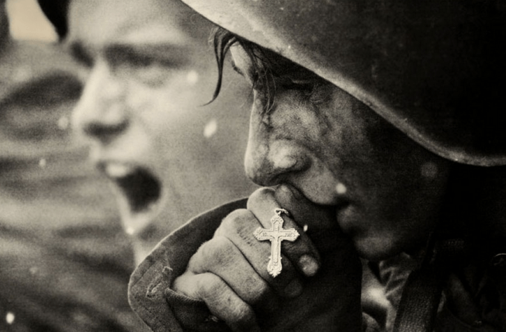 <figcaption>Russian soldiers preparing for the Battle of Kursk, July 1943</figcaption>