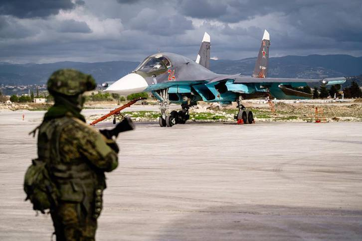 The Su-34 in Latakia