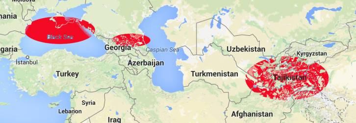 <figcaption>Крым, Чечня и Таджикистан - новое жесткое подбрюшье России</figcaption>