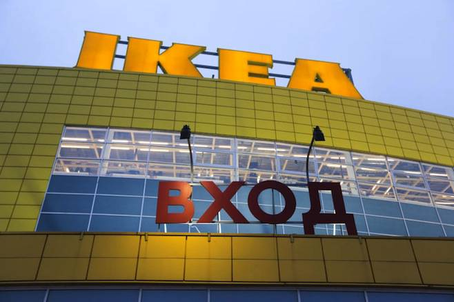 <figcaption>IKEA operates 14 giant shopping malls across Russia under the brand name MEGA, each with its own IKEA store   Photo: Maxim Stulov, Vedomosti</figcaption>