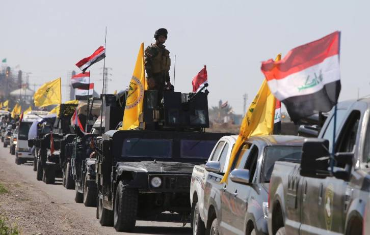 <figcaption>In latest provocation Israel has hit the fighters of the powerful Iraqi Hezbollah militia in Eastern Syria</figcaption>